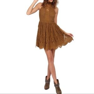 Free People Verushka Lace Mini Dress Size XS Est.